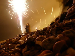 At new year, on brighton beach | by anna pickard