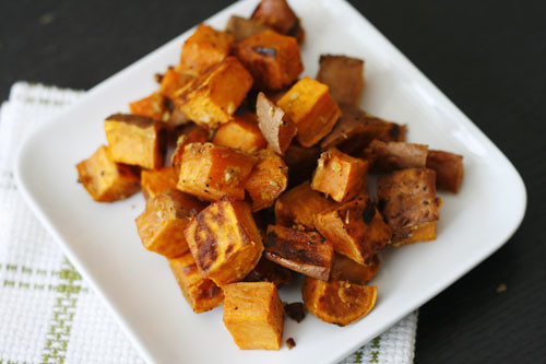 Roasted Sweet Potatoes with Garlic and Ginger | by Sarah :: Sarah's Cucina Bella