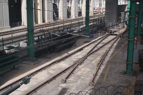 Training rig at Kowloon Bay depot