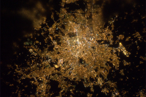 Paris by night | by europeanspaceagency