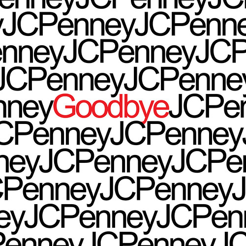 Goodbye JCPenney (logo) | by Joe Architect