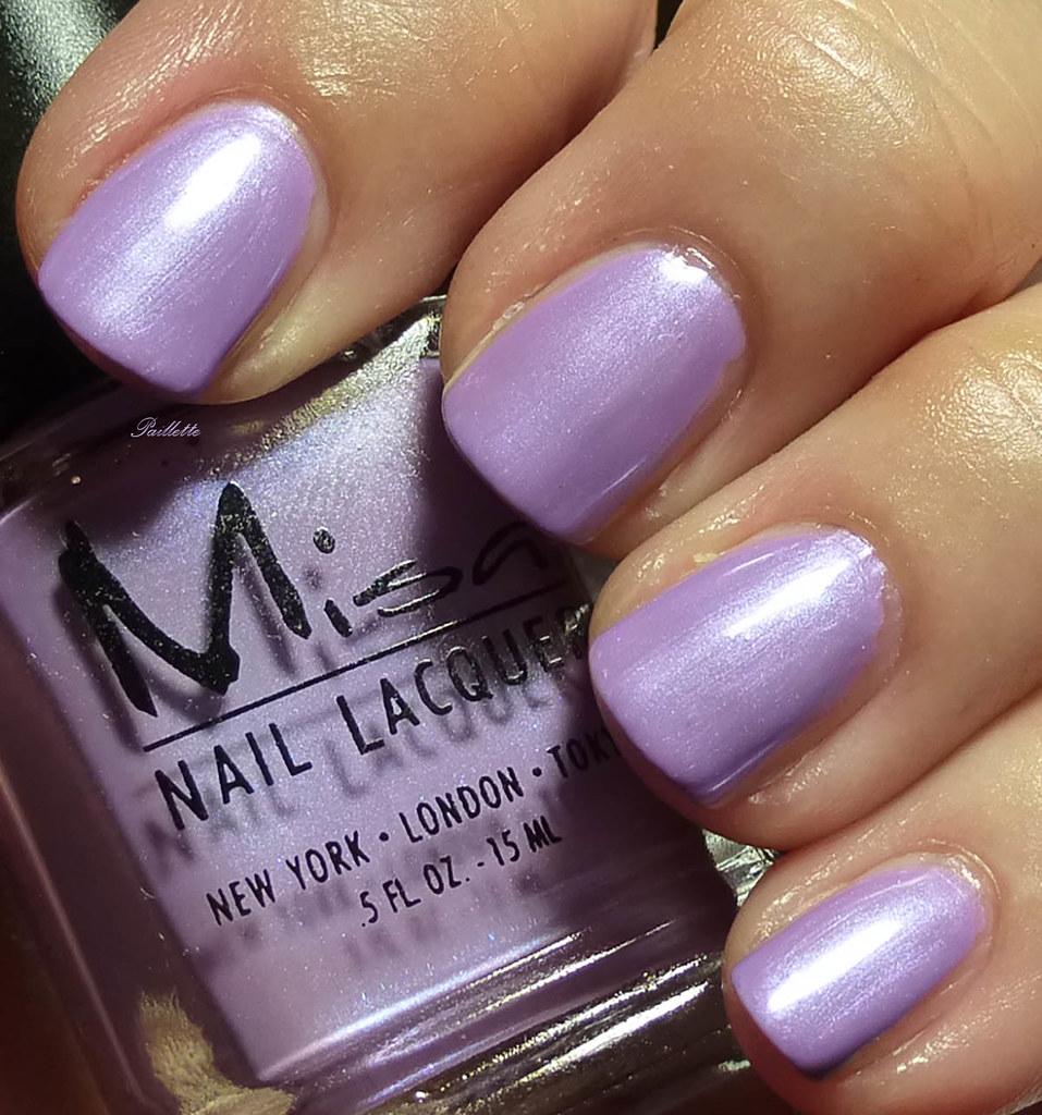 Paillette: a little nail polish journal: Misa Lavender Trio