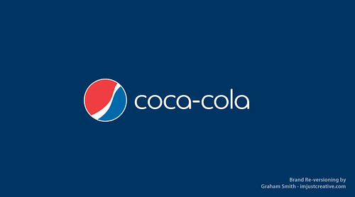 Coca-Cola Pepsi Reversion | by The Logo Smith