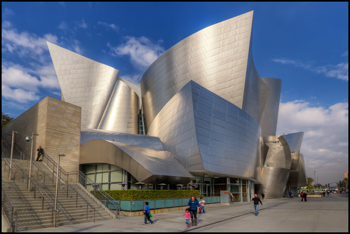 Walt Disney Concert Hall, Los Angeles | by szeke