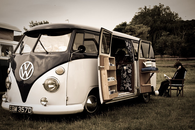 Campervan living...