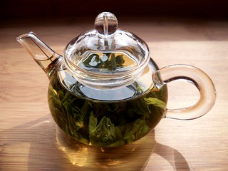 Tea Leaves Steeping | by A Girl With Tea
