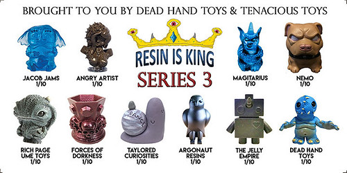 Reveal of Resin Is King Series 3