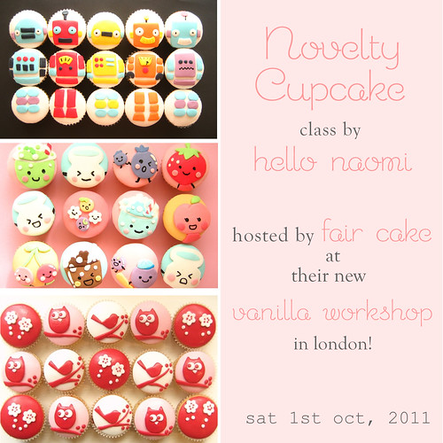 Hello Naomi classes at Fair Cake in LONDON!! | by hello naomi