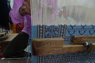 Agra - Carpet artistan
