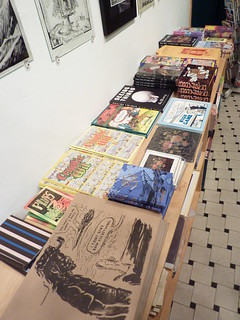 Medieval Thinkers exhibit, Fantagraphics Bookstore & Gallery, Dec. 11, 2010 | by fantagraphics