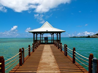 Pier, Mahebourg, Mauritius | by j-riviere