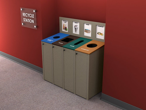 max-R Indoor Recycling Bin | by max-R