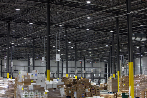 Balzac Fresh Food Distribution Center - LED lights | by Walmart Corporate