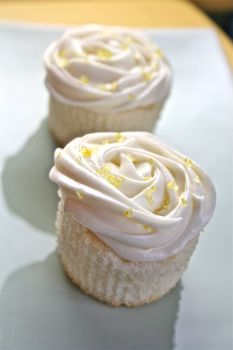 Lemon Cupcakes | by Hungry Housewife