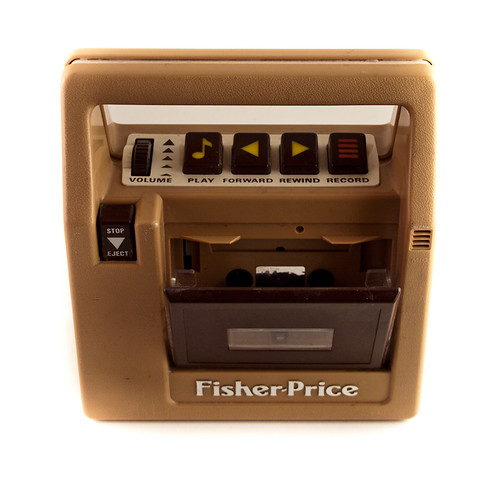 Vintage Cassette Tape Player Recorder Fisher Price | by goodmerchants