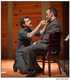 Web: Talented, but unstable Dorian pleads with Elliot | by Portland Center Stage at The Armory
