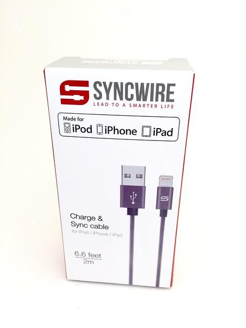 Présentation du cable Syncwire 2 mètres (MFI) - Boîte
