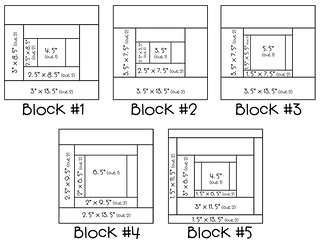 "13"" quilt block diagrams 