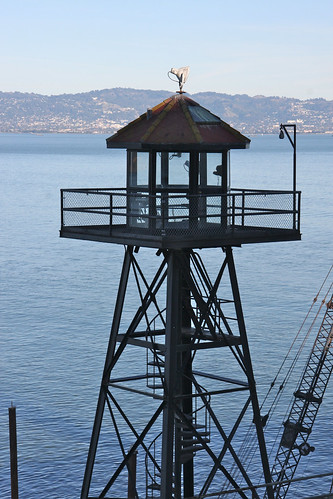 Alcatraz Guard Tower | by erikrasmussen