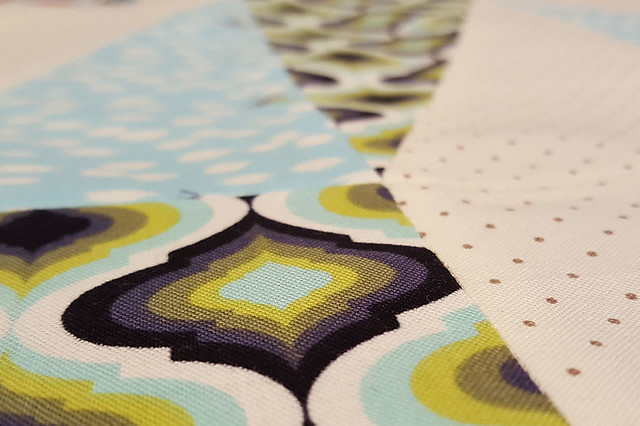 Twizzle Quilt Block Close-Up