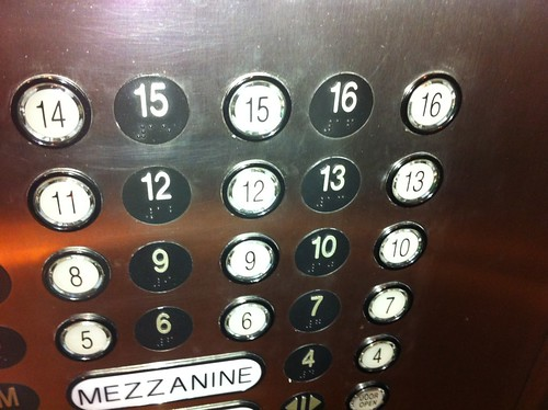 This hotel labeled their 13th floor 13 i 39 m impressed for 13th floor of hotels