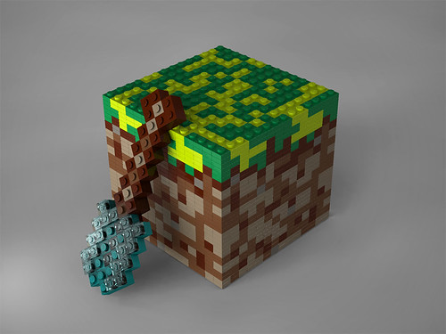 Lego Minecraft Block | by suparMacho