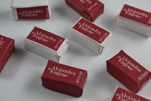 personalized wrapped sugar cubes | by Alejandra of Always Order Dessert