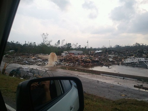 Tuscaloosa damage | by abc3340weather