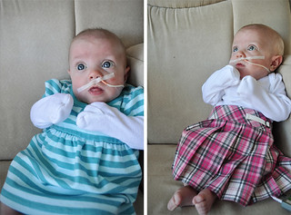 Scarlette :: 5 Months | Fashion Show At Lunch | by kaylaaimee