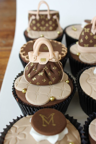Luis Vuitton Cupcakes | by Isa Herzog