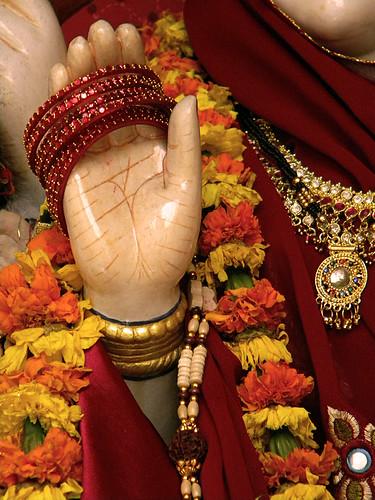 the hand of Krishna