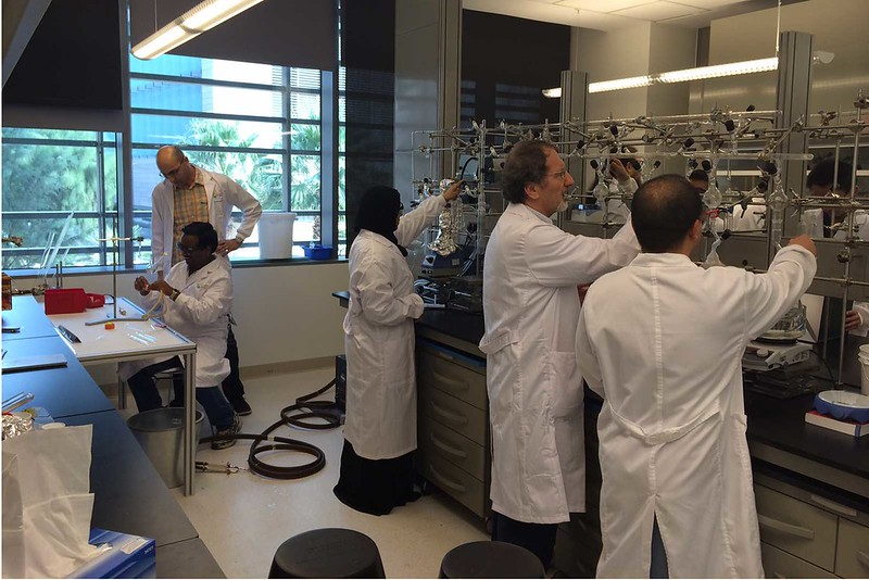 Polymer Synthesis Laboratory at KAUST