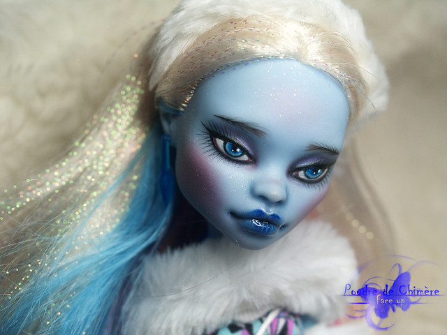 Monster High Abbey Bominable repaint