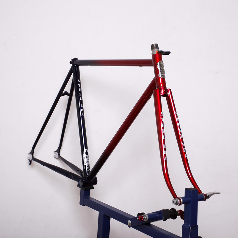 Steel Era Frame Set Repainted by Swamp Things