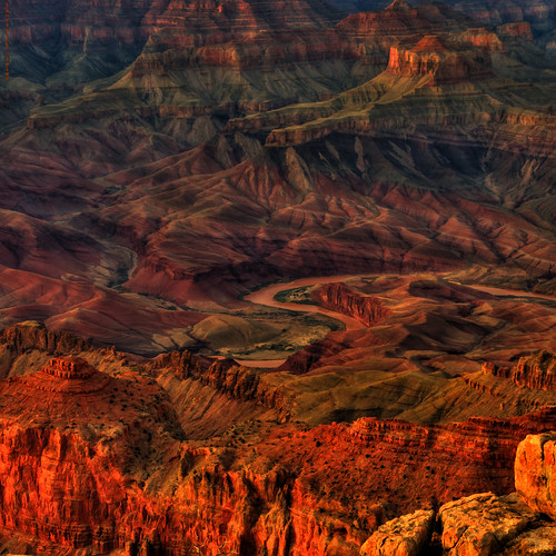 Grand Canyon Sunset Spires | by JamesWatkins
