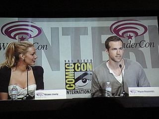 WonderCon 2011 - Blake Lively and Ryan Reynolds at the Green Lantern panel | by Doug Kline