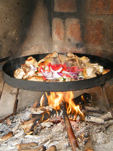 Pollo al Disco - Cooking the Vegetables by katiemetz, on Flickr