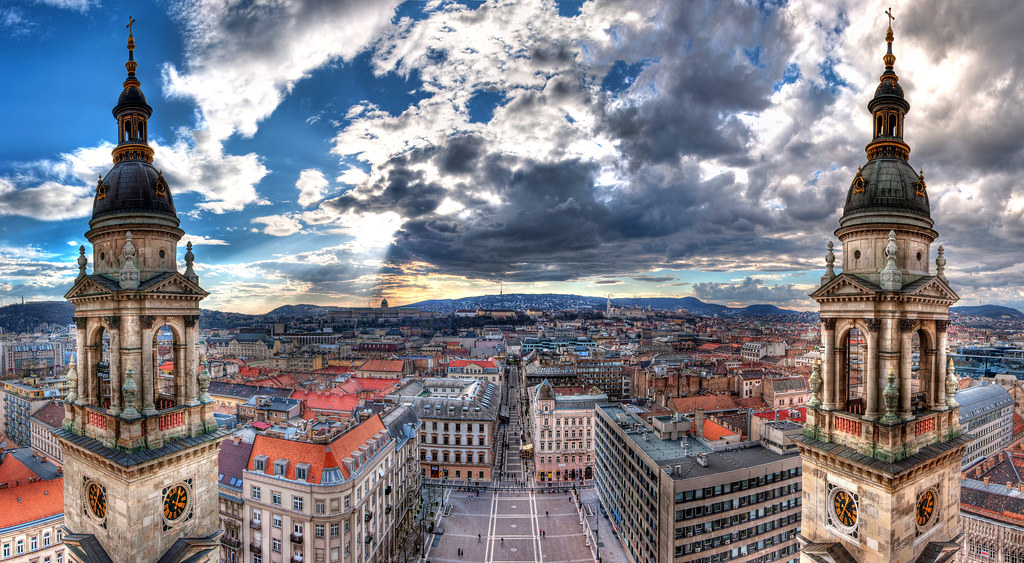 Budapest Panorama HDR