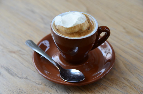 Espresso Con Panna with Salted Whip Cream @ Blue Bottle | by jonathan mcintosh