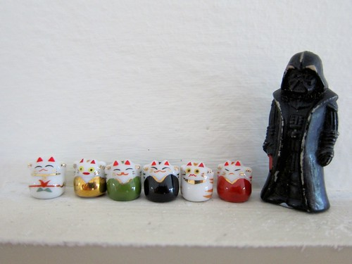 mini maneki neko | by squirrelmonkey