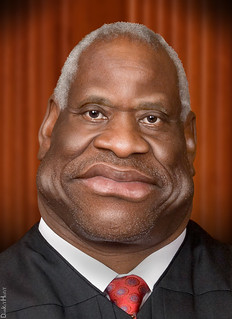 Clarence Thomas - Caricature | by DonkeyHotey