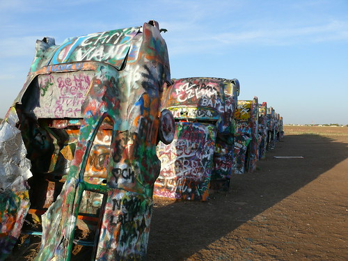 Cadillac Ranch Route 66