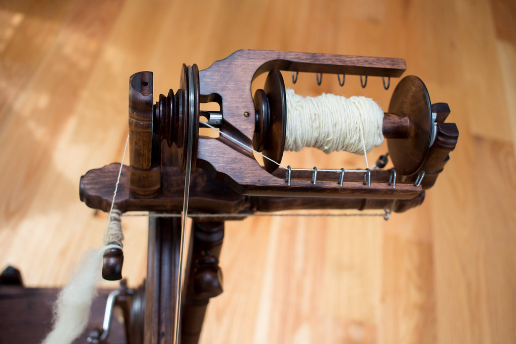 My second attempt at spinning