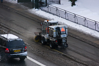 Copenhagen Snow Clearance - Cycling in Winter in Copenhagen | by Mikael Colville-Andersen