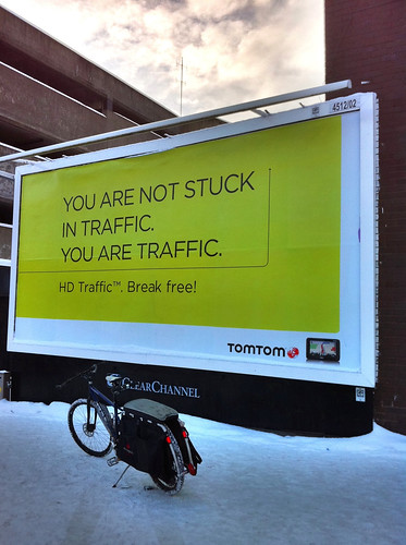 You are not stuck in traffic. You are traffic. | by carltonreid