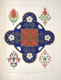 Floriated ornament, a series of thirty-one designs, 1849 - Augustus Welby Northmore Pugin a | by peacay