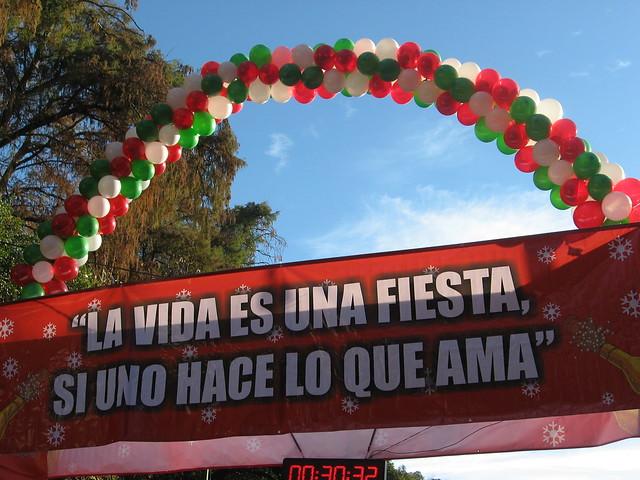 Carrera San Silvestre 2010 Mexico DF 007