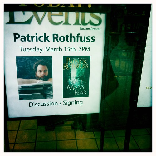 Patrick Rothfuss Signing 2 | by The Greyest Ghost