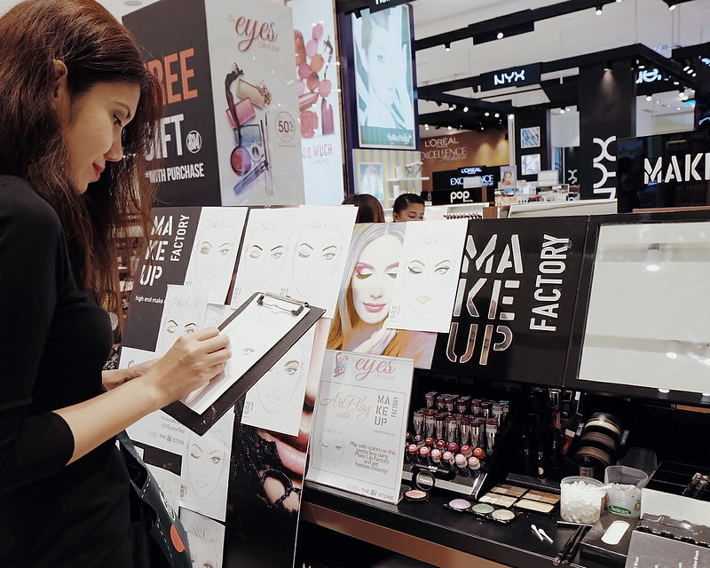 Eye Makeup Sale at SM Beauty + Eyes On Fleek Campaign
