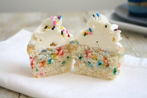 Funfetti Cupcakes | by Tracey's Culinary Adventures